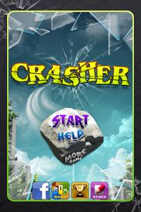 Capture d'écran Crasher