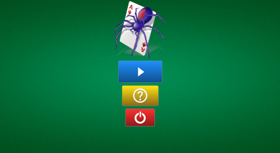 Capture d'écran Spider Solitaire