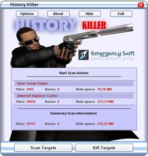 Capture d'écran History Killer
