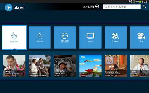 Capture d'écran Player