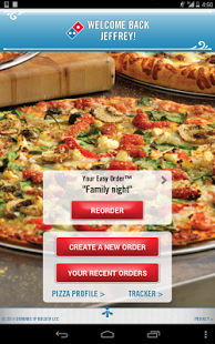 Capture d'écran Domino's Pizza USA