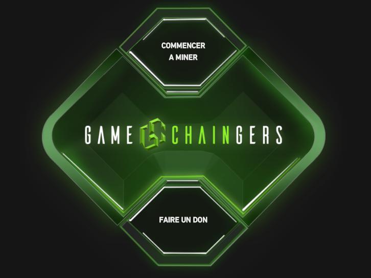 Capture d'écran Unicef – Game Chaingers