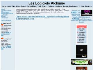 Capture d'écran CASINO Alchimie