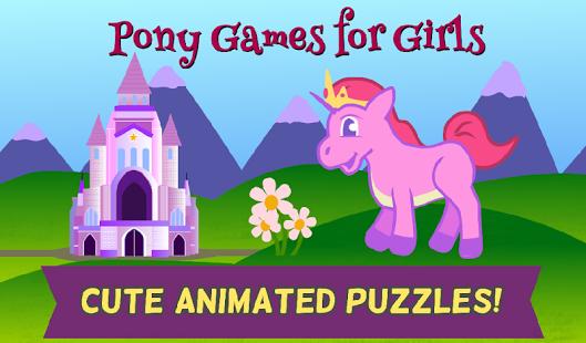 Capture d'écran Jeux Mon Poney pour Filles