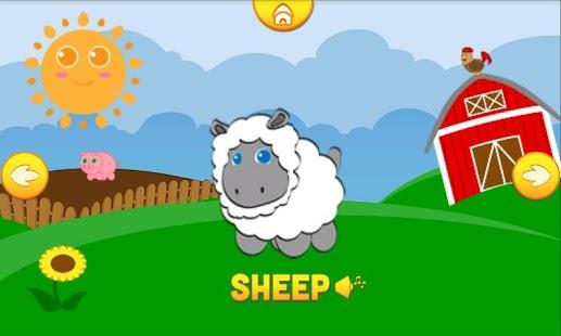 Capture d'écran Funny Animals pour bébés Free