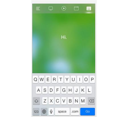 Capture d'écran Remote Mouse iOS