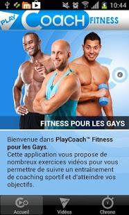Capture d'écran Fitness pour les Gays