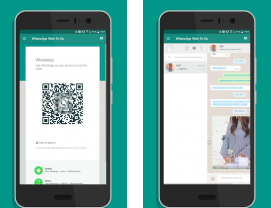 Capture d'écran WhatsApp Web To Go