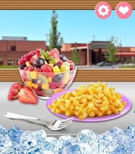 Capture d'écran School Lunch Food!