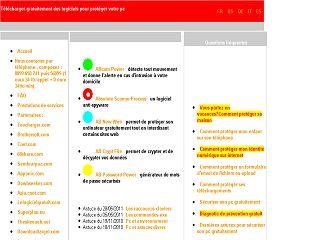Capture d'écran Abnewweb