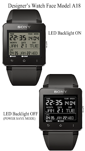 Capture d'écran A18 WatchFace for SmartWatch2