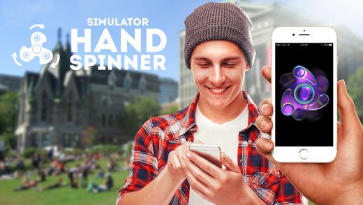 Capture d'écran Hand Spinner Simulator iOS