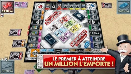 Capture d'écran Monopoly Millionaire