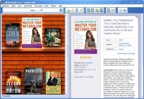 Capture d'écran All My Books