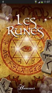 Capture d'écran Les Runes