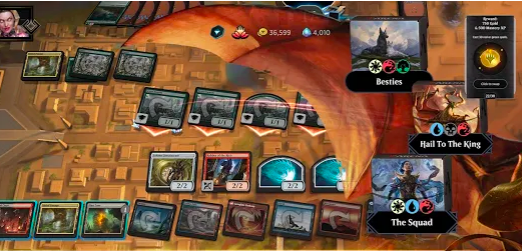 Capture d'écran Magic: The Gathering Arena Android