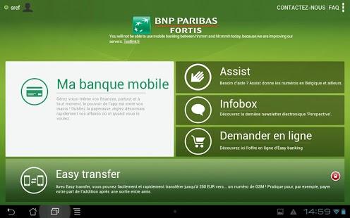 Capture d'écran Easy banking