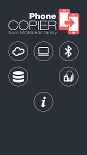 Capture d'écran Phone Copier
