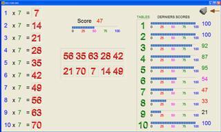 Capture d'écran DIX FOIS DIX