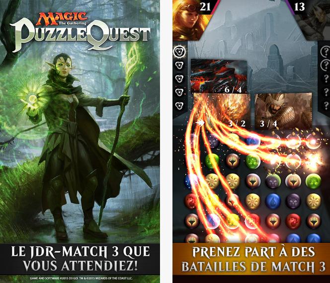 Capture d'écran Magic : The Gathering Puzzle Quest Android