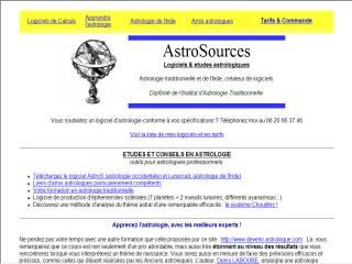 Capture d'écran AstroInde Express