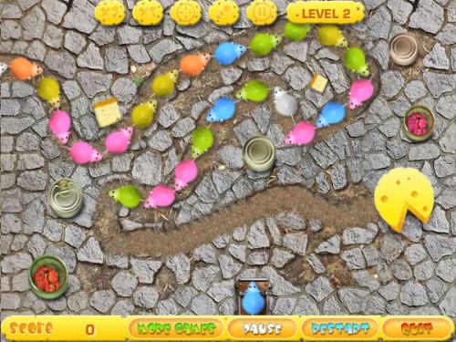 Capture d'écran Mouse Chain