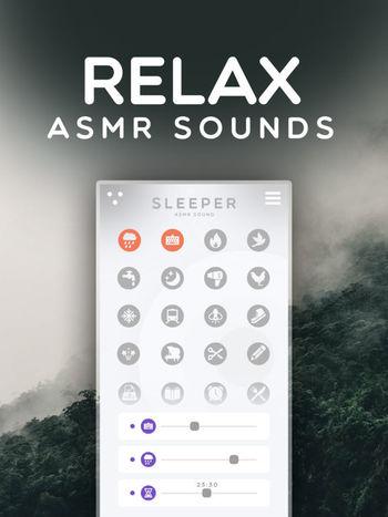 Capture d'écran Sleeper – ASMR Sounds iOS