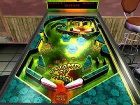 Capture d'écran 3DRT Pinball