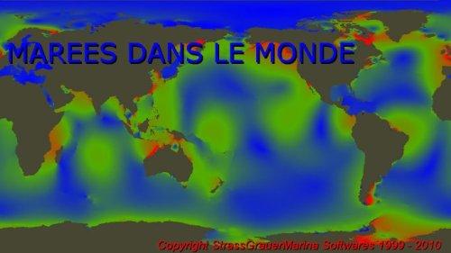 Capture d'écran Marées dans le Monde
