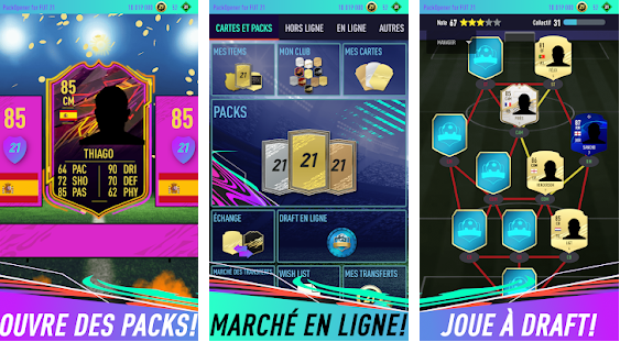 Capture d'écran Pack Opener for FUT 21