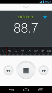 Capture d'écran Radio FM Motorola