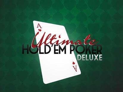 Capture d'écran Ultimate Hold'em Poker Deluxe