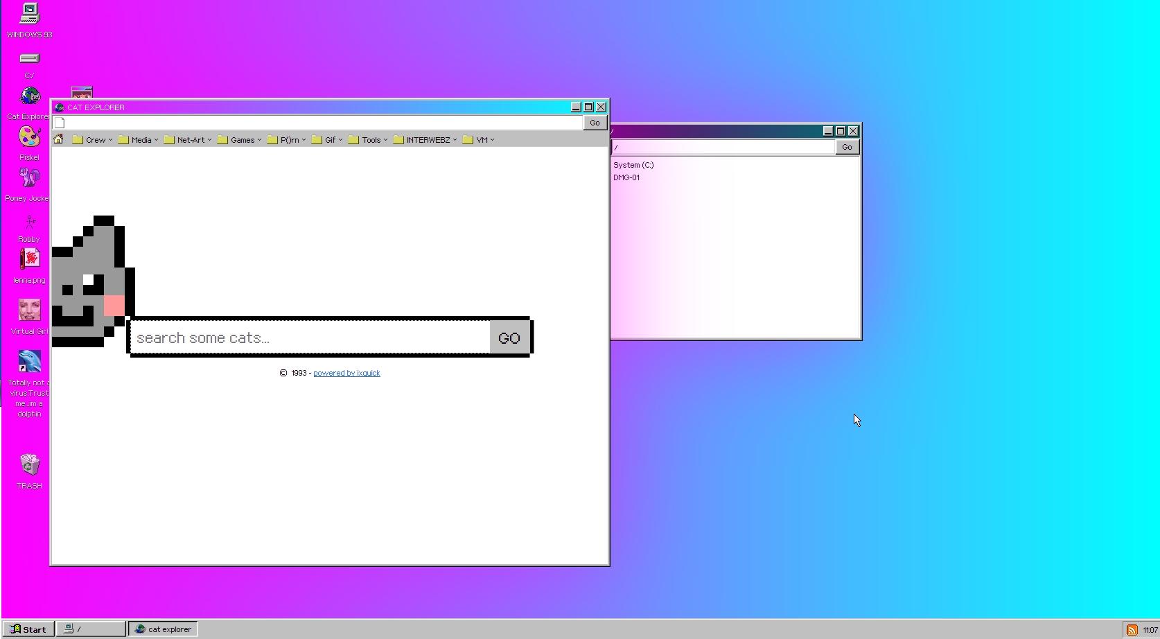 Capture d'écran Windows 93