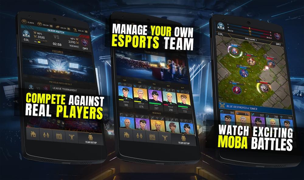 Capture d'écran RIVALS Esports MOBA Manager Android