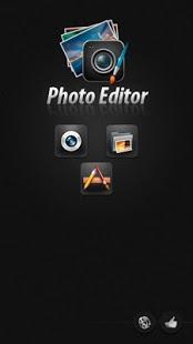 Capture d'écran Photo Editor pour Android