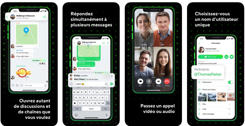 Capture d'écran ICQ New iOS