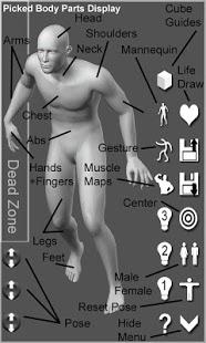 Capture d'écran Pose Tool 3D