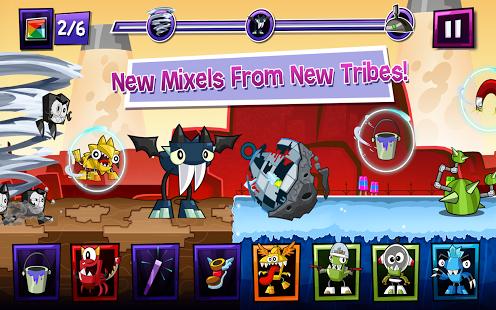 Capture d'écran Mixels Rush