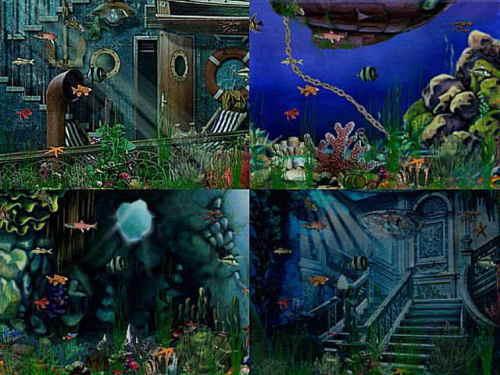 Capture d'écran Deep Sea Screen Saver