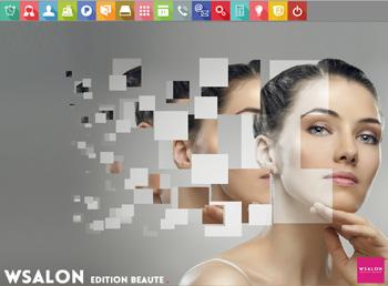 Capture d'écran WSalon édition Institut de beauté NF525 par TDE Informatique