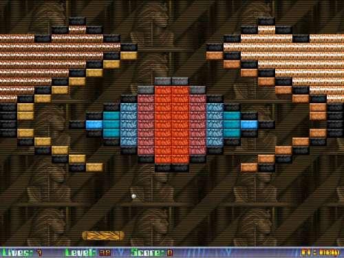 Capture d'écran Brickanoid