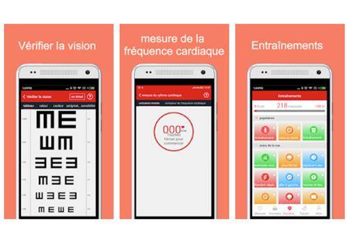Capture d'écran iCare Moniteur de santé Android