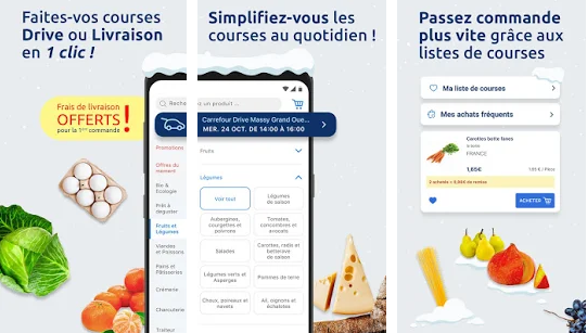 Capture d'écran Carrefour Drive Android