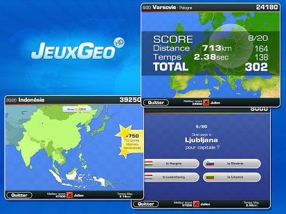 Capture d'écran Jeuxgeo HD