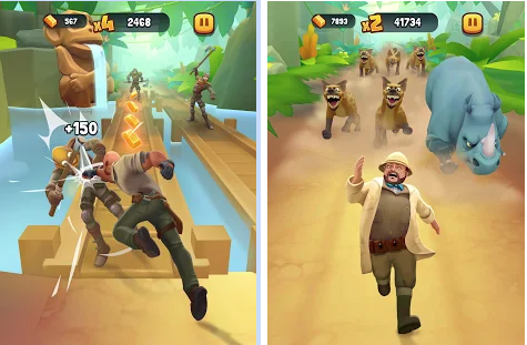 Capture d'écran Jumanji Epic Run Android