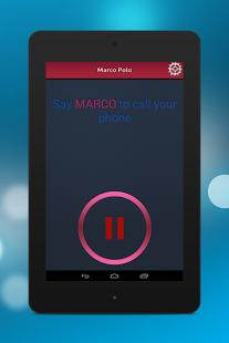 Capture d'écran Marco Polo – Find Your Phone