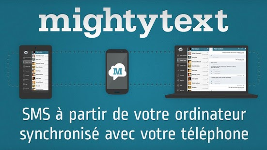 Capture d'écran SMS Gratuit↔PC (Firefox/Chrome
