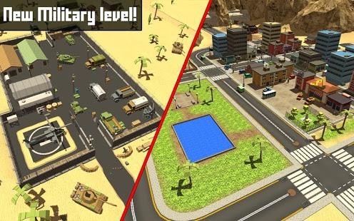 Capture d'écran Pixel Block Survival Craft