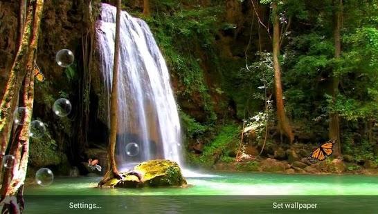 Capture d'écran Cascade Libre Live Wallpaper