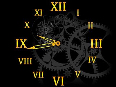 Capture d'écran Clock Mechanism Screensaver